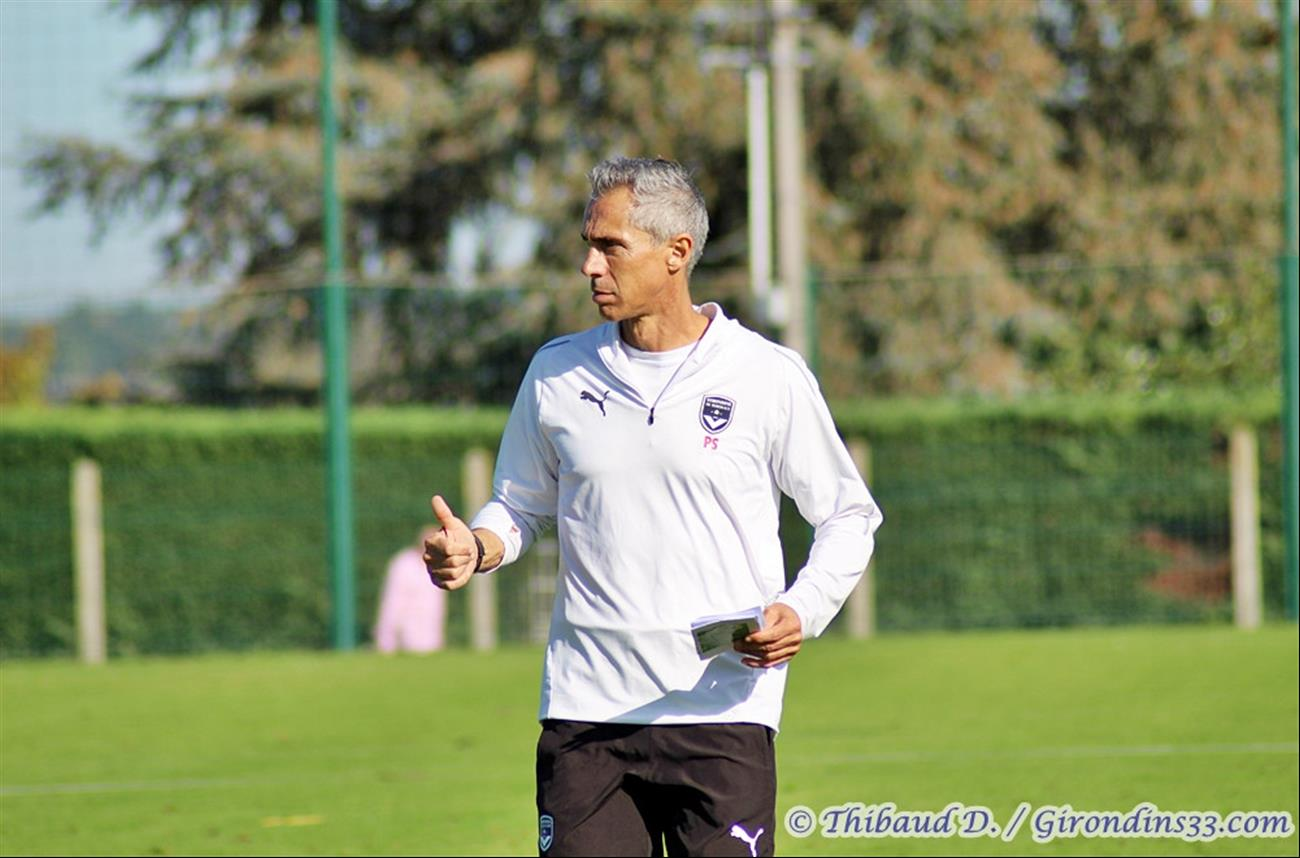 "Paulo Sousa : ""On a encore un long chemin de progression"""